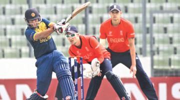 England vs Srilanka U 19 WC at SBNCS,Mirpur Dhaka.